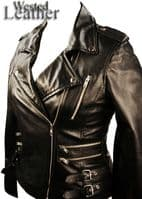 Ladies Biker Jacket - Style 7113 | Wested Leather Co